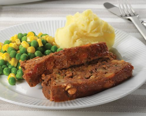 Beef and Bean Meatloaf recipe from Food in a Minute