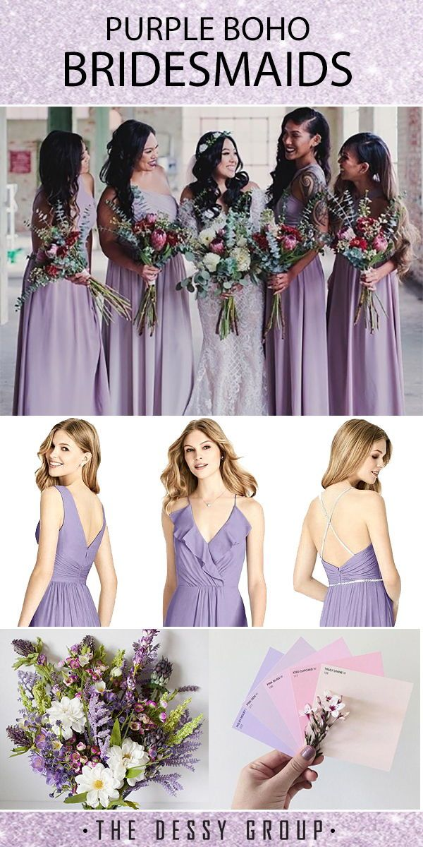 Passion Purple Bridesmaid Dresses Perfect For Spring Fall And