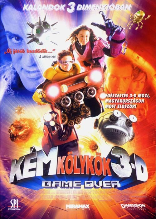 Spy Kids 3-D: Game Over 【 FuII • Movie • Streaming