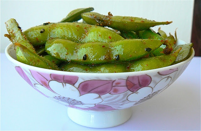 Edamame coated with soy sauce and spices | Favorite Recipes | Pintere ...