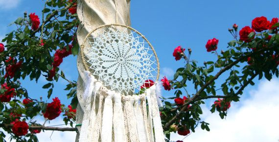 Dreamcatcher uncinetto acchiappasogni di WeddingDreamHandmade