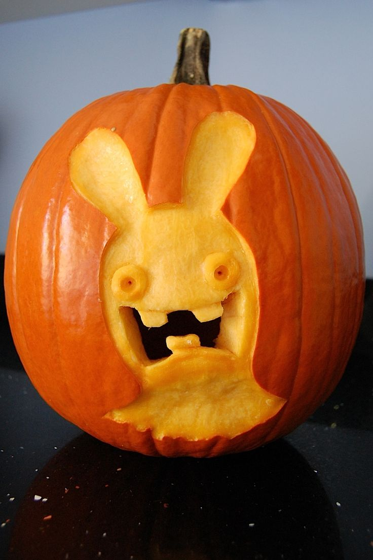 vk ressys rabbids pumpkins - Raving Rabbids Halloween Costume