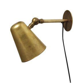 Wall lamp raw brass - VÄGGLAMPOR - BELYSNING - Market29.se