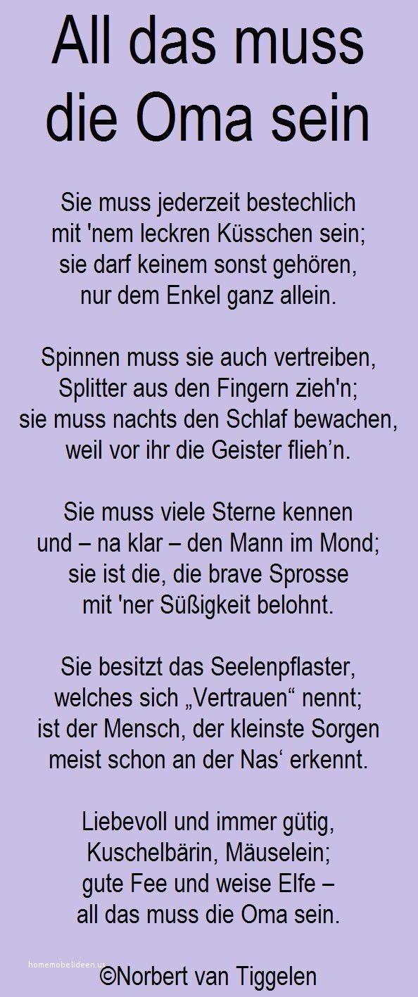Gedichte Opa Gedichte Zum Geburtstag Fur Oma Vom Enkel 2020 03 01
