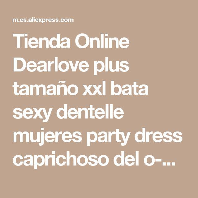 Tienda Online Dearlove plus tamaño xxl bata sexy dentelle mujeres party dress caprichoso del o-cuello de mezclilla azul claro frontal con cremallera de oro midi dress LC60659   Aliexpress móvil