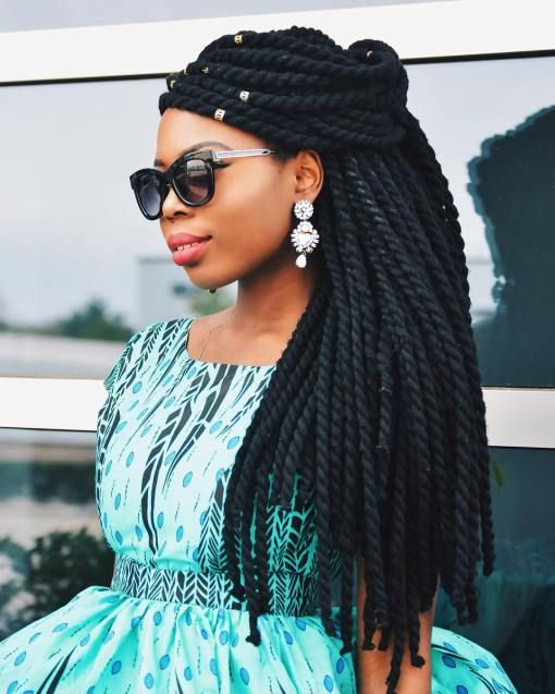 23 Eye-Catching Twist Braids Hairstyles for Black Hair forecasting