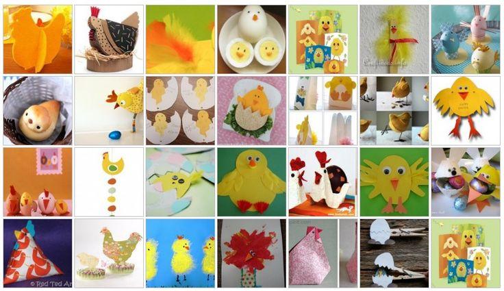 Lavoretti-per-Pasqua-pulcini-galline-e-galletti-25-e-più-progetti