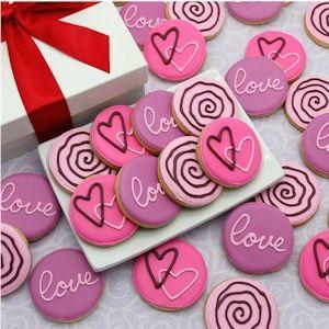 Corso's Love and Hearts Mini Valentine Cookies image