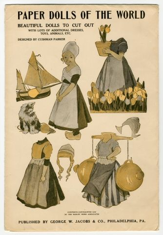 85.5083: Paper Dolls of the World | paper doll set | Paper Dolls | Dolls | National Museum of Play Online Collections | The Strong