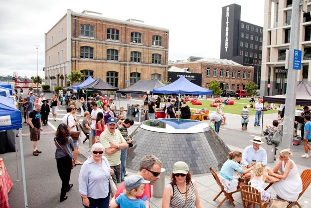 Weekly Farmers' Market at Britomart