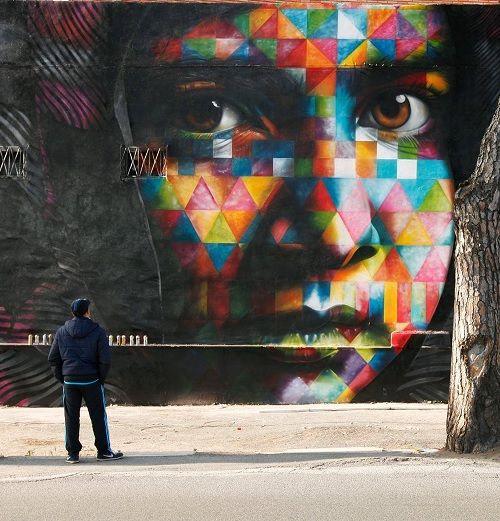 17 mejores ideas sobre artistas callejeros en pinterest for Graffitis y murales callejeros