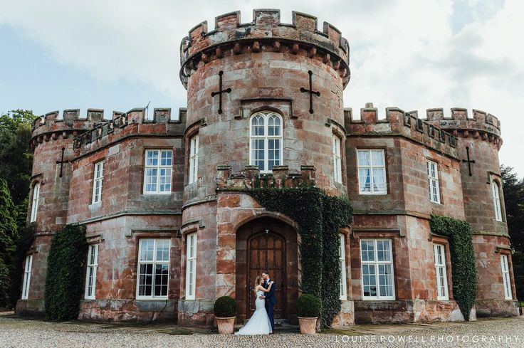 Stunning venue for an english country garden wedding. Bride and groom. Wedding @ The Citadel, Shropshire. Documentary style photography by Louise Powell | Wedding & Portrait Photographer | Telford, Shropshire #romance