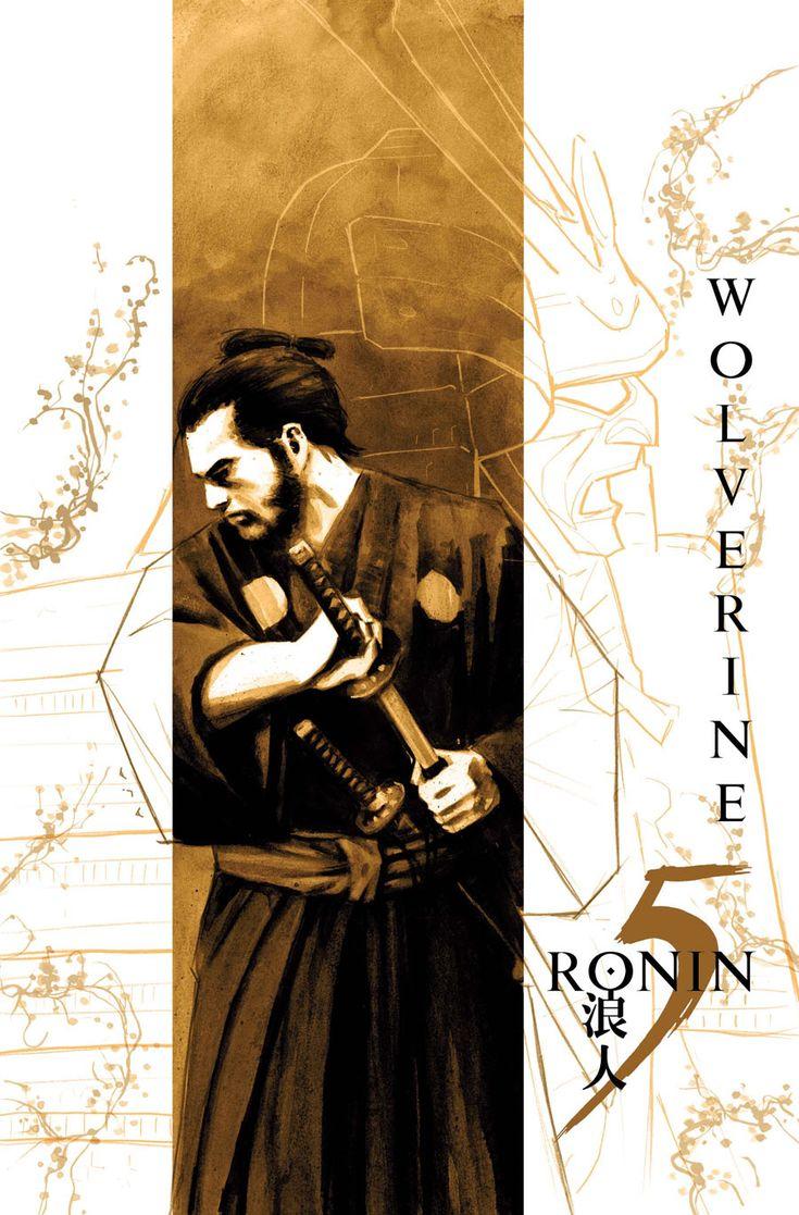 5 Ronin Wolverine - David Aja