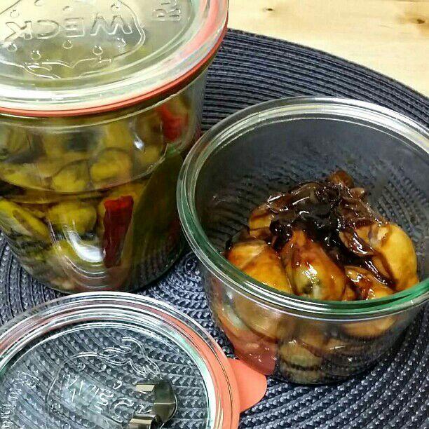 牡蠣が2kgも届いたのでまずはオイル漬けと佃煮♡ - 35件のもぐもぐ - 牡蠣祭り♪ by kyuja