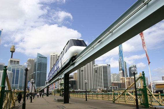 Monorail from Sydney