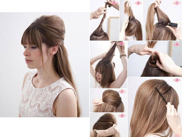 Die 50`s sind zurück! Nicht nur mit Rock und Mode, sondern mit Pin Up Frisuren. Die Rockabilly Haare werden nie aus der Mode.
