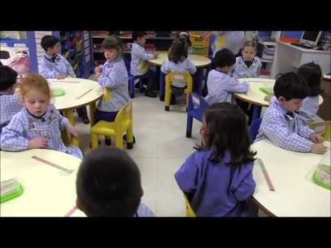 Iniciación Método ABN - 4 años B - Colegio LAR - curso 12/13.wmv - YouTube