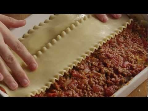 The Best Meat Lasagna Recipe -- How to Make Homemade Italian Lasagna Bolognese - YouTube