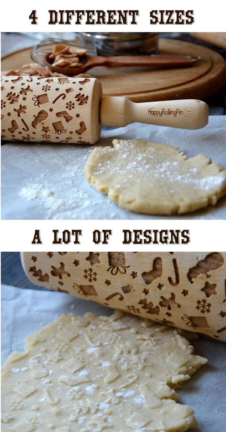 40 Christmas pattern Engraved rolling pin Embossed Rolling Pin Custom Engraved Housewarming gift Houseware by HappyRollingPin on Etsy https://www.etsy.com/listing/250305934/40-christmas-pattern-engraved-rolling