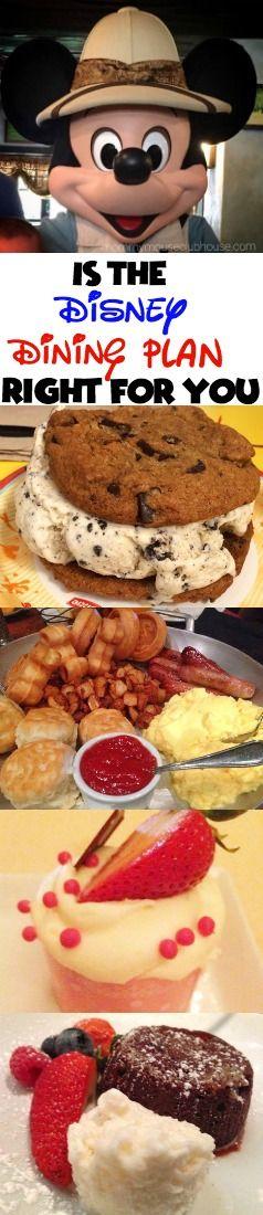 best disney dining plan table service restaurants value credits