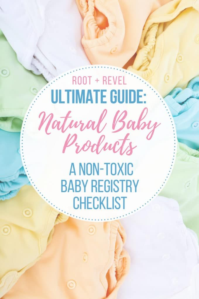 Natural Baby Products A Non-Toxic Baby Registry Checklist Aw - baby registry checklists