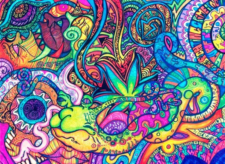 Top 7 grandes genios amantes del LSD y el Cannabis