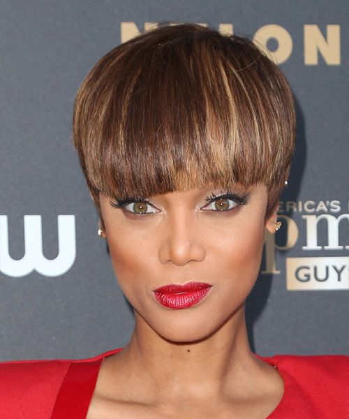 17 Best Ideas About Tyra Banks Short Hair On Pinterest