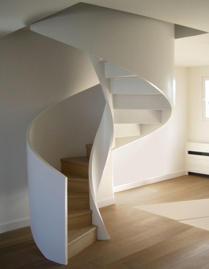 Oltre 25 fantastiche idee su scale a chiocciola su - Scale a chiocciola moderne ...