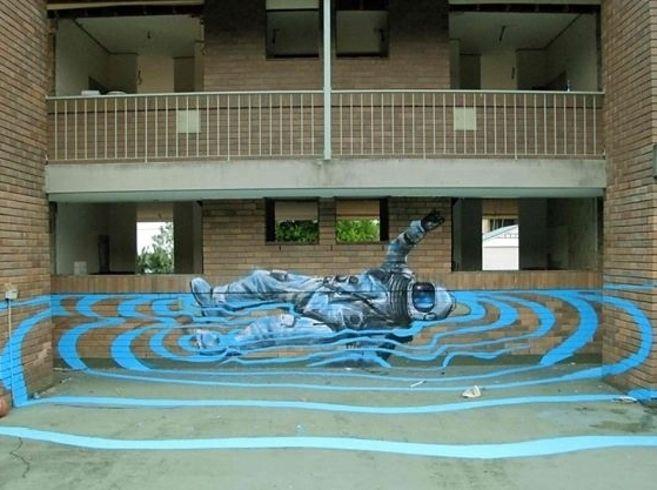 Sydney-based artist Fintan Magee is redefining street art.