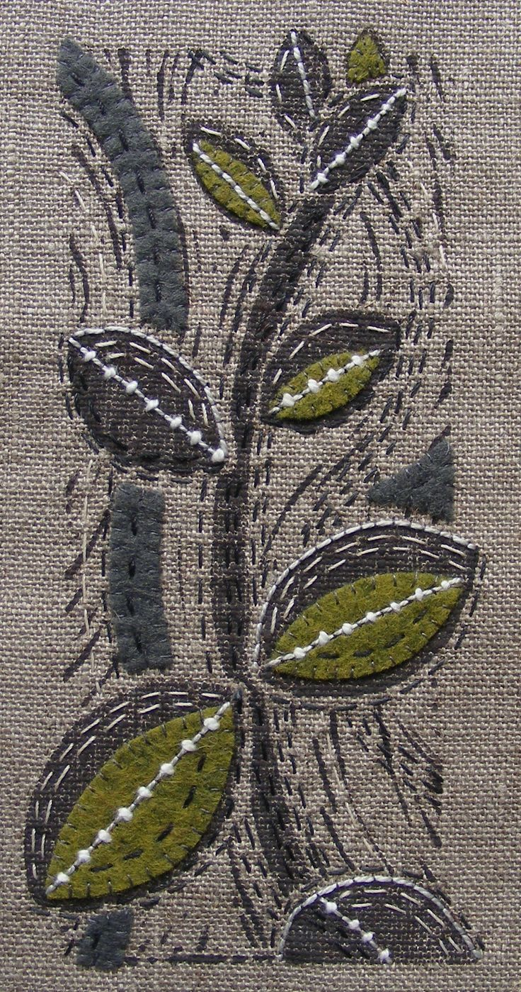Louise Nichols--could be a mix of printmaking and sewing and patchwork