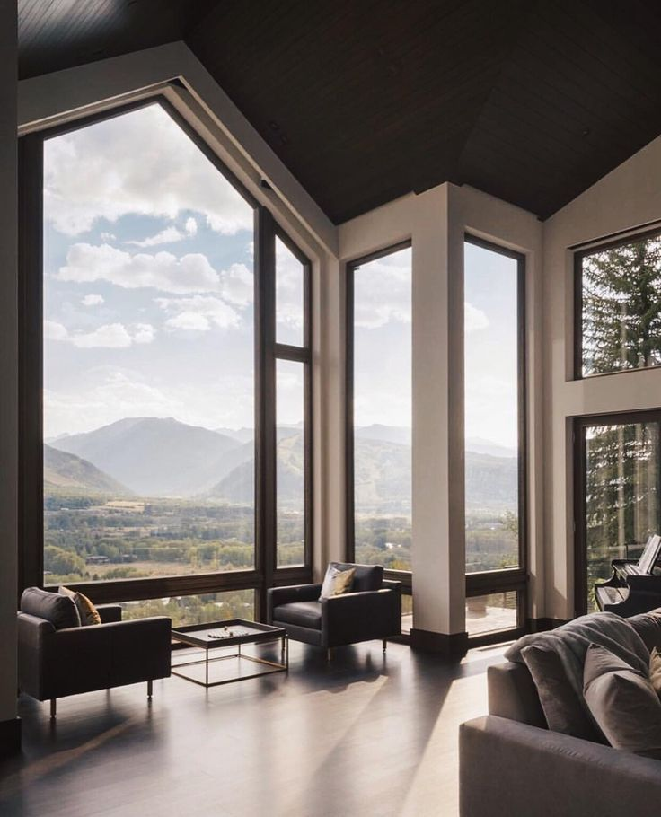 Aspen Glam Minimal Interior Design Minimalism Interior Cabin