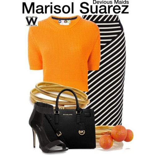 Wear What You Watch • Inspired by Ana Ortiz as Marisol Suarez on Devious...