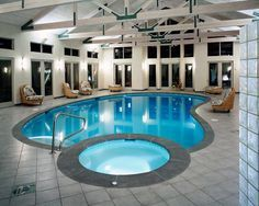 indoor home pools | Indoor swimming pools by Downes Swimming Pool Company