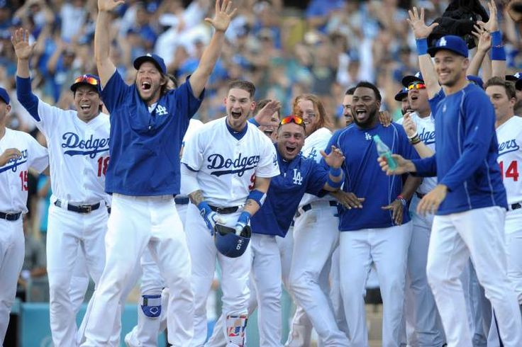 Path to the 2017 World Series - Los Angeles Dodgers  -  October 23, 2017.  TICKET TO OCTOBER PUNCHED... FINALLY  -   Despite a losing streak that last nearly a full two weeks, an inevitable date with the postseason still awaited the NL's top team. With a losing skid-ending win on Sept 12, the Dodgers clinched a spot in the postseason. Kershaw led the way, picking up his 17th victory over six innings against the Giants.