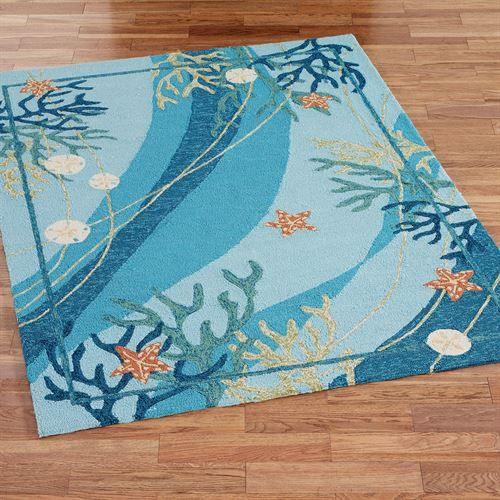 Ocean House Rug: 554 Best COastal Pillows- Throws & Rugs Images On