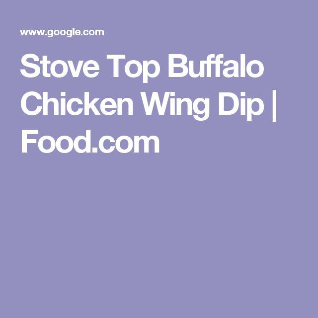 Stove Top Buffalo Chicken Wing Dip | Food.com