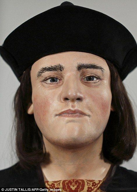 A model based on the discovered skull of Richard III shows what the monarch may have looked like during his reign