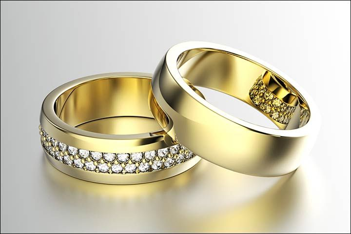 Wedding Ring Couple Gold Wedding Rings For Couples Wedding Rings For Couples With Names Engraved Couple Couple Wedding Rings Couple Rings Wedding Ring Designs