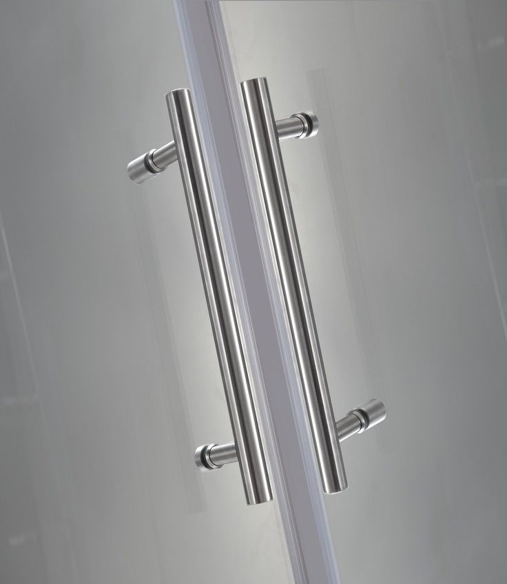 Vanora Completely Frameless Dual-Door Square HInged Shower Enclosure