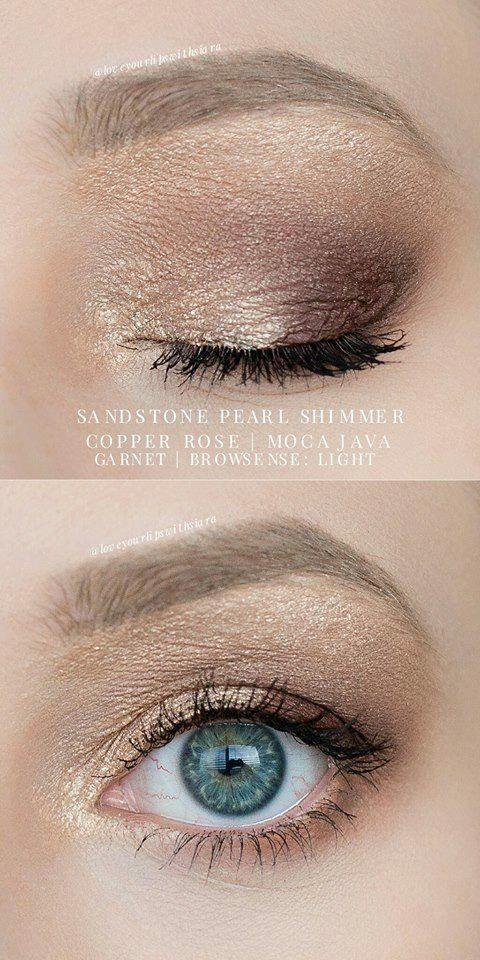 Shadowsense sandstone Pearl shimmer garnet moca java onyx