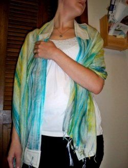How To Make an Eco Tallit From a Scarf