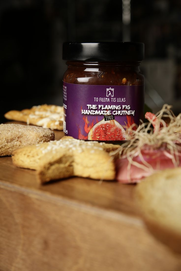 HOT.....FLAMING FIG CHUTNEY by To filema tis Lelas- Greece