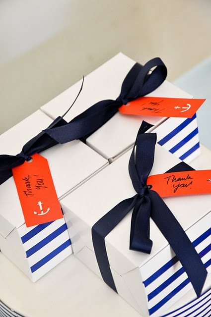 love the anchor and the blue/white/orange