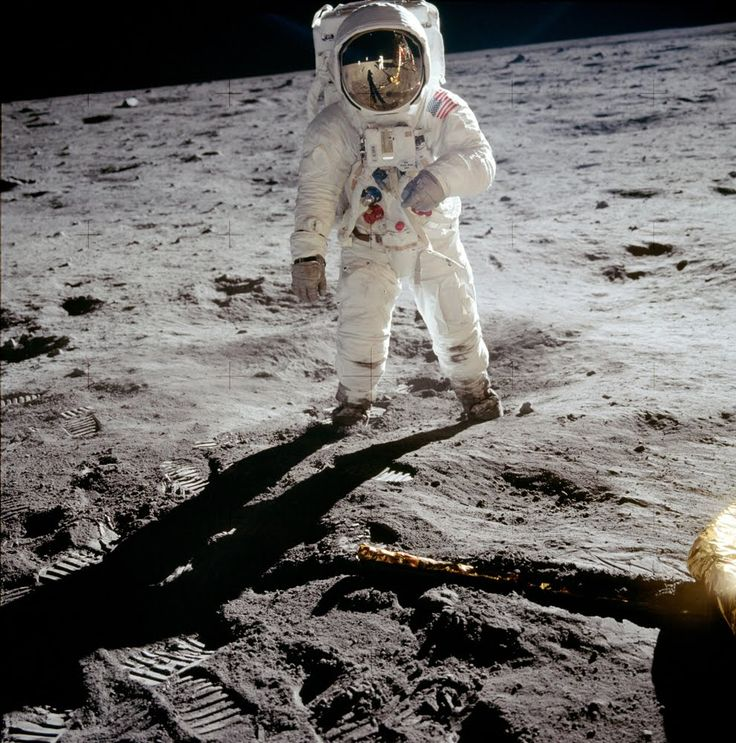 After 45 years, you'd think there is no picture of the historic Apollo 11 moon landing that hasn't been seen a thousand times—but you'd be wrong.