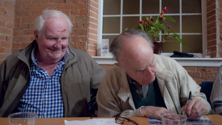 Shane Rimmer & David Graham visit the Whoovers