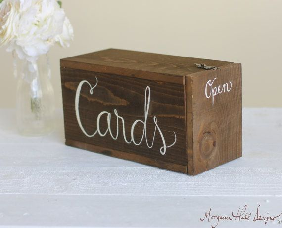 Wedding Cards Box Rustic Mailbox Shabby Chic Wedding Decor (Item Number 140128) NEW ITEM on Etsy, $59.99