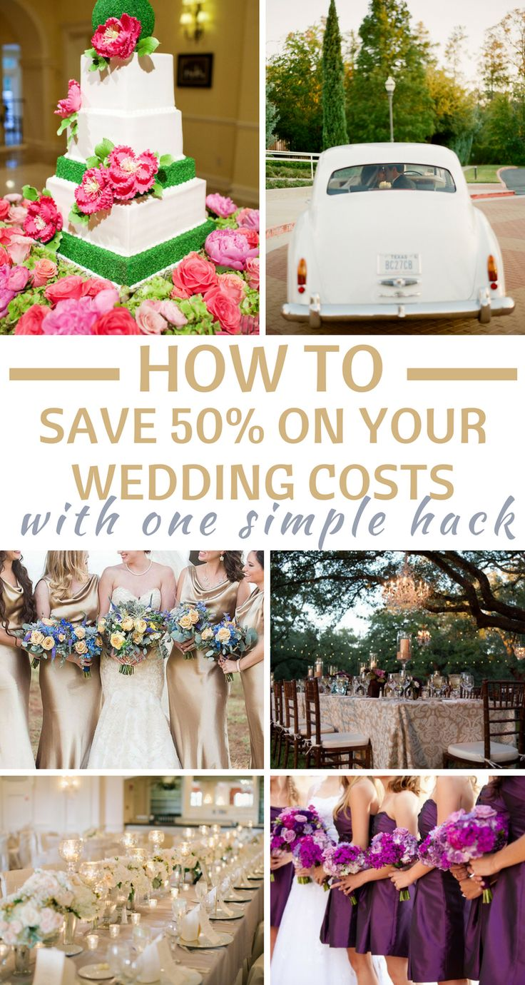 Wedding budget got you down? This article contains THE BEST way to cut your wedding costs! I've read a lot of articles on how to save on your wedding costs, and this article is hands down the most valuable! Don't wait--PIN IT NOW! #weddingbudget #cheapwedding #7centerpieces