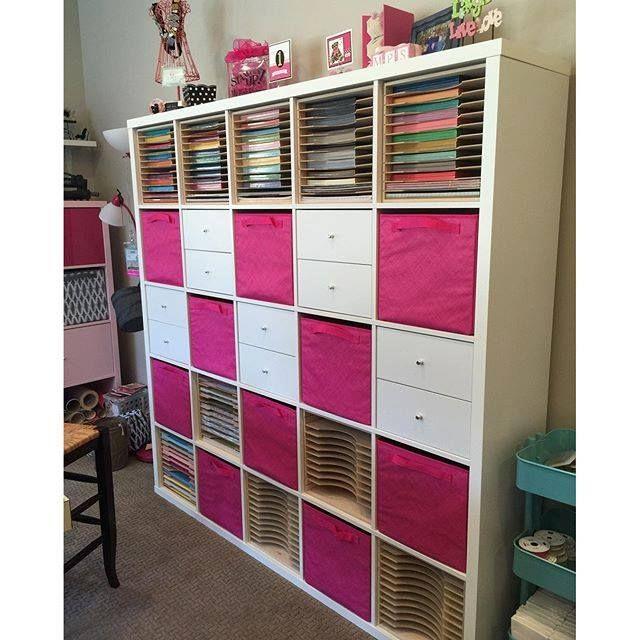 new kallax sizes at ikea my dream scrapbook room. Black Bedroom Furniture Sets. Home Design Ideas