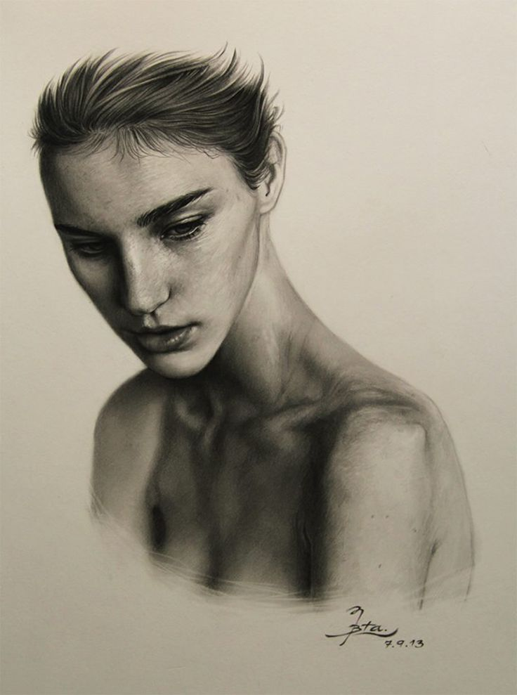 A drawing by B.T.A. Artist. http://illusion.scene360.com/news-community/natural-beauty/ #art #drawing