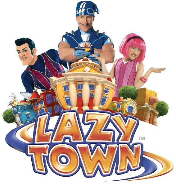 "Lazy Town show: Where exercise, friends, and responsibility are important and fruit and veggies are called ""Sports Candy""."